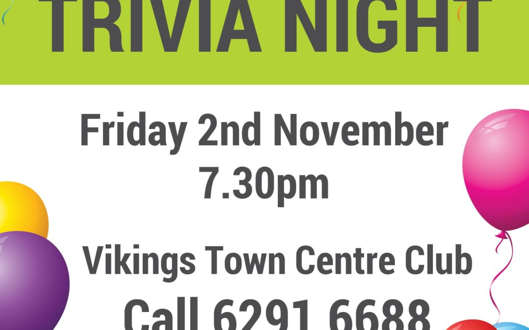 Corpus Christi Parish South Tuggeranong  – Trivia Night